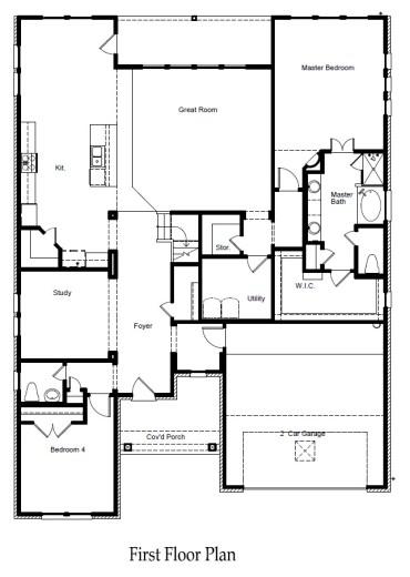 Caldwell Floorplan