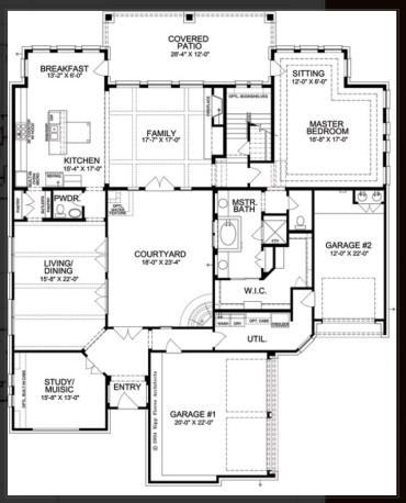 River Oaks Floor Plan