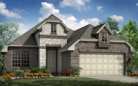 The Lennox model elevation 3 by Scott Felder homes.